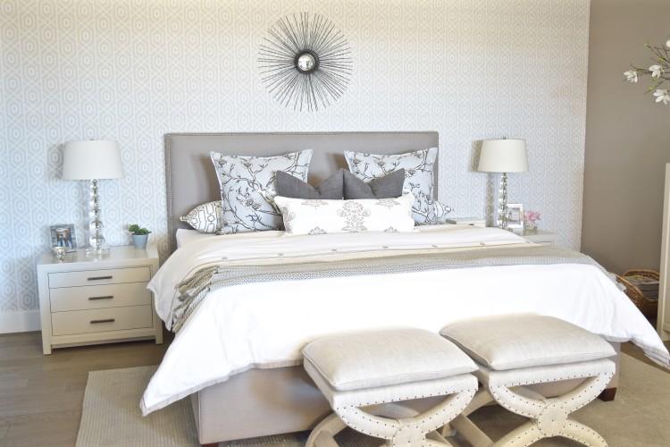 Nuetral Transitional Master Bedroom