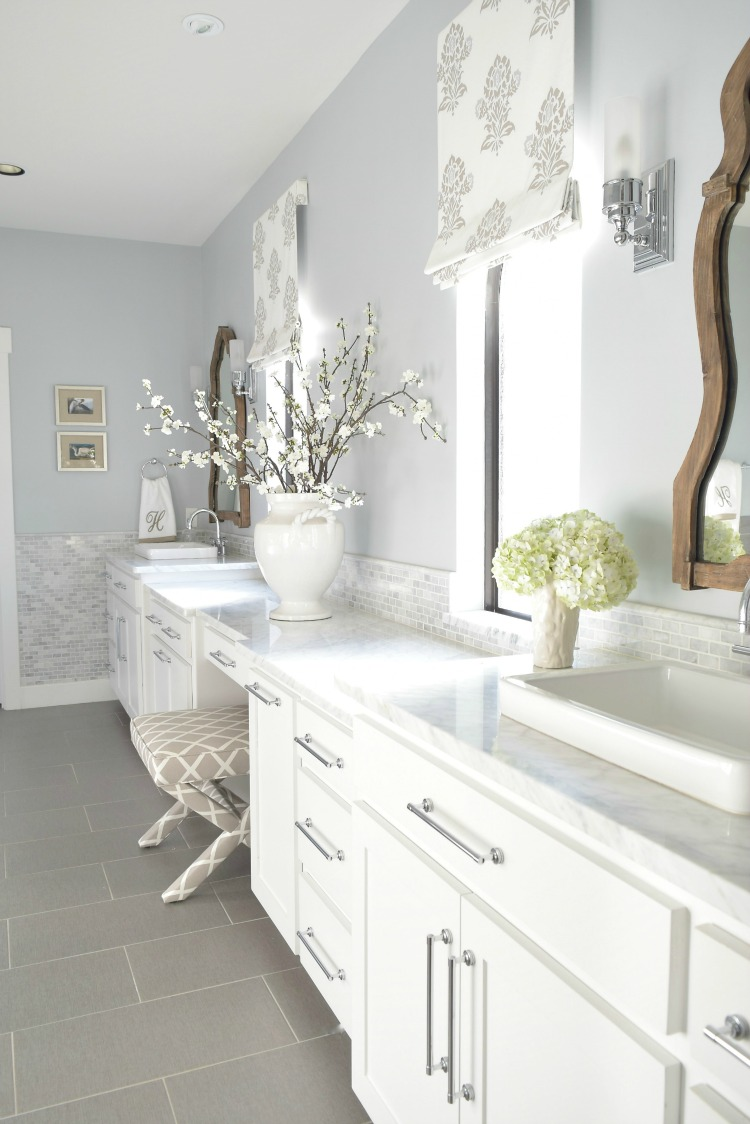 White-marble-Master-Bath