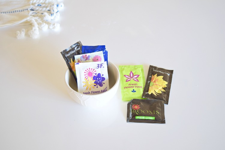 flower food packets alum