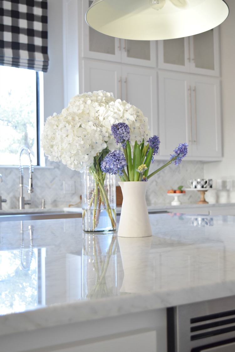 how to care for hydrangeas and other flowers proper care of hydrangeas white farmhouse kitchen white carrara marble