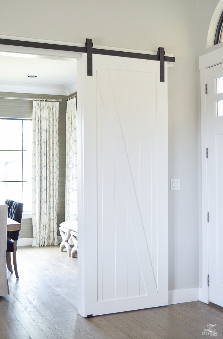 white barn door a welcome barn door addition to our home zdesign at home 13144