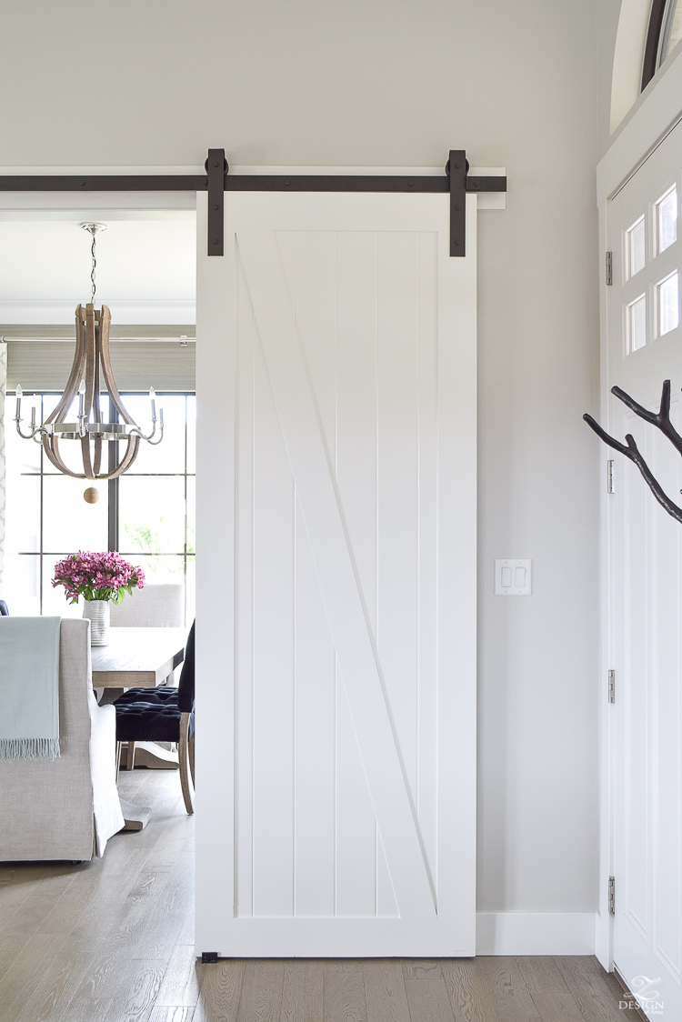 A Welcome Barn Door Addition To Our Home Zdesign At Home