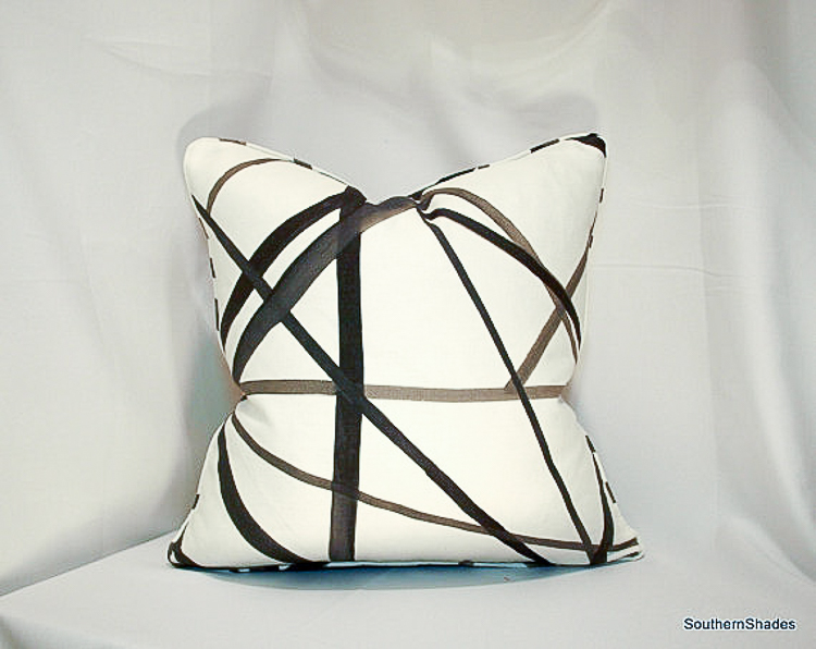 Kelly Wearstler channels pillow cover