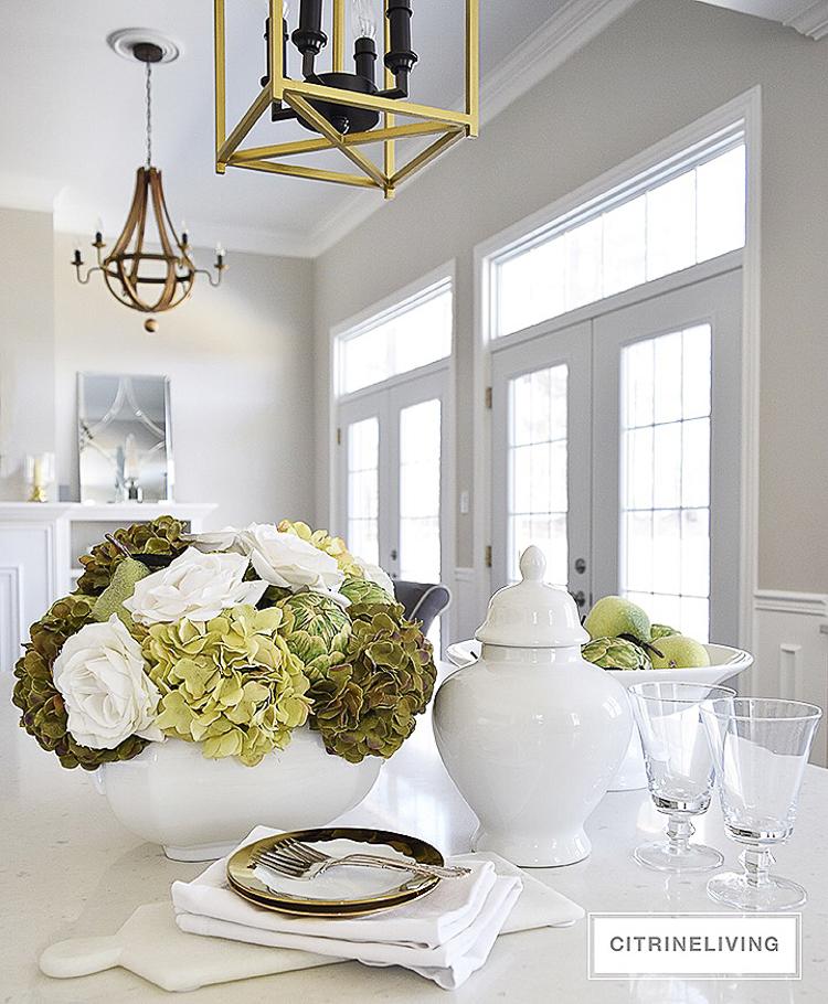 White vase challenge - Citrine Living