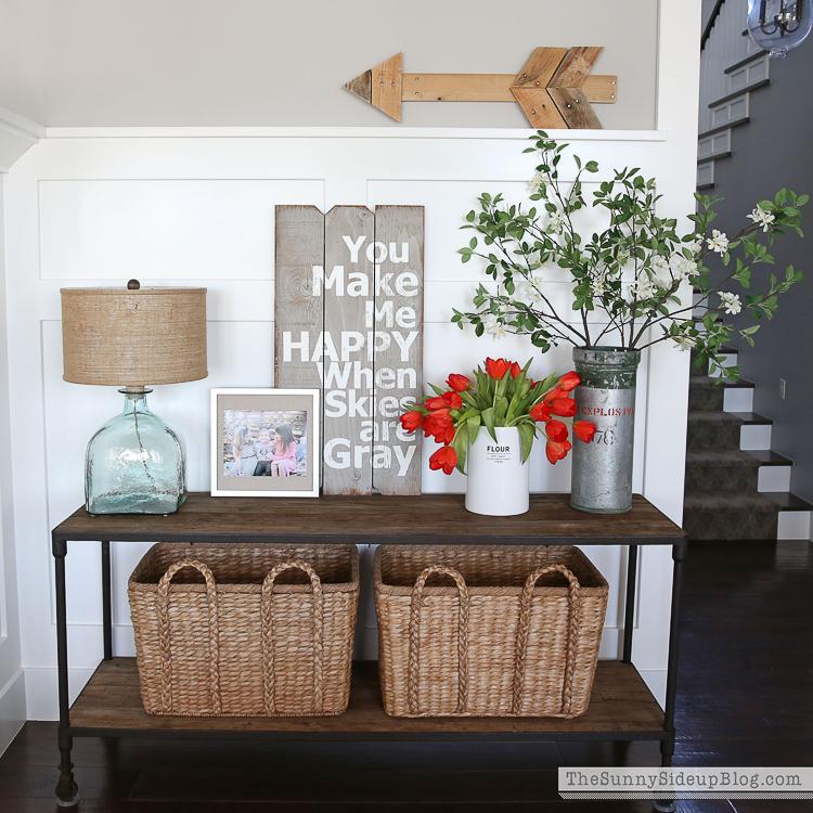White vase challenge - Sunny Side Blog