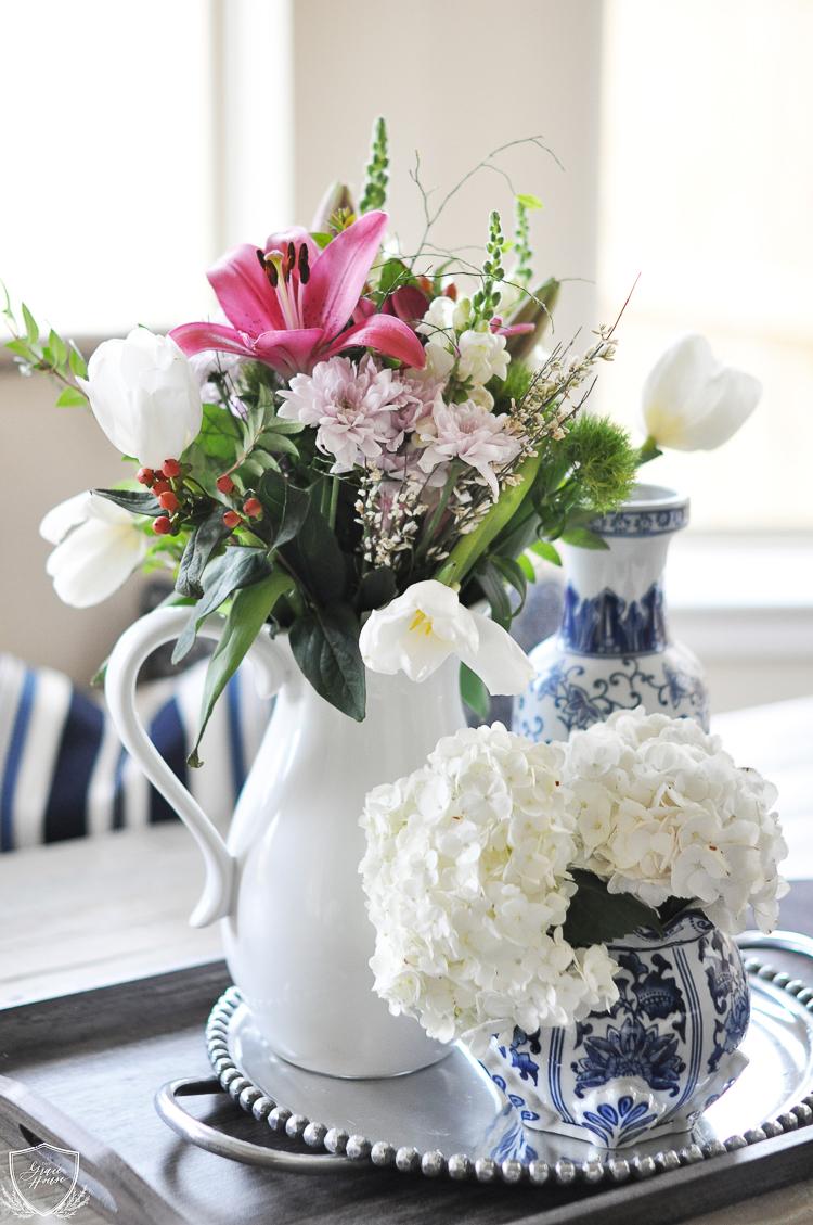 White vase challenge - The Grace House