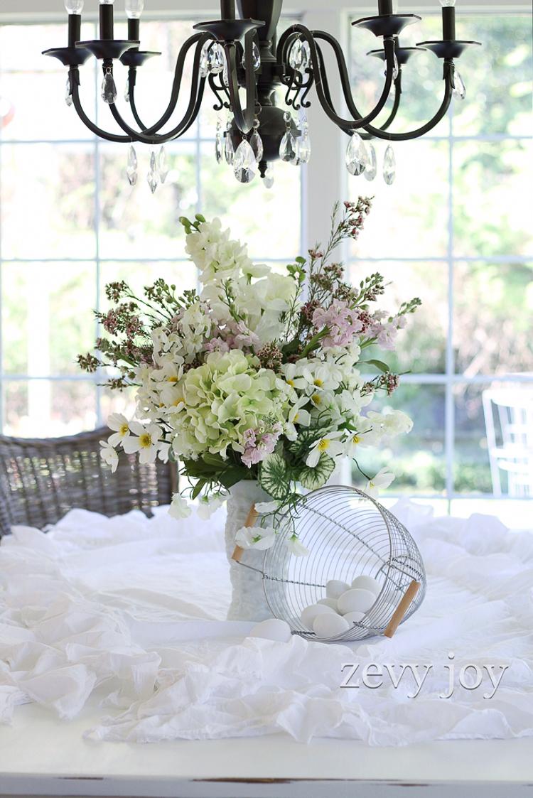 White vase challenge - Zevy Joy
