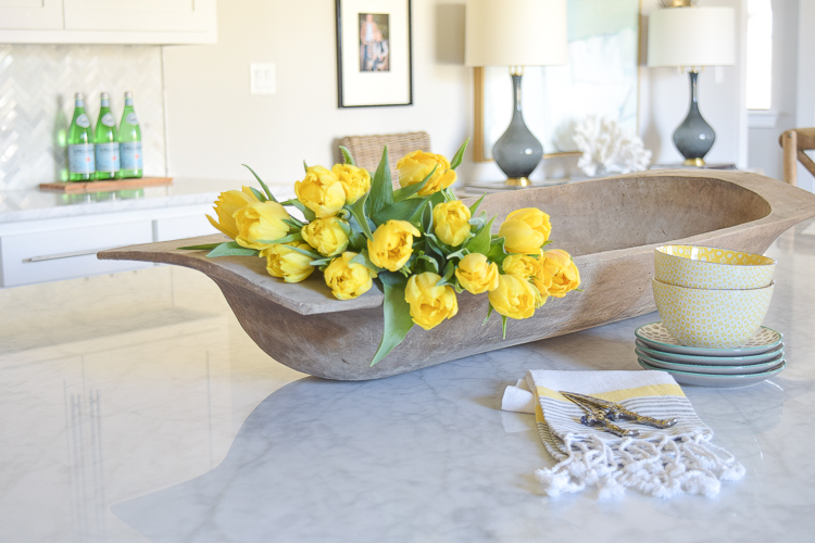 ZDesign At Home Spring Tour Yellow tulips