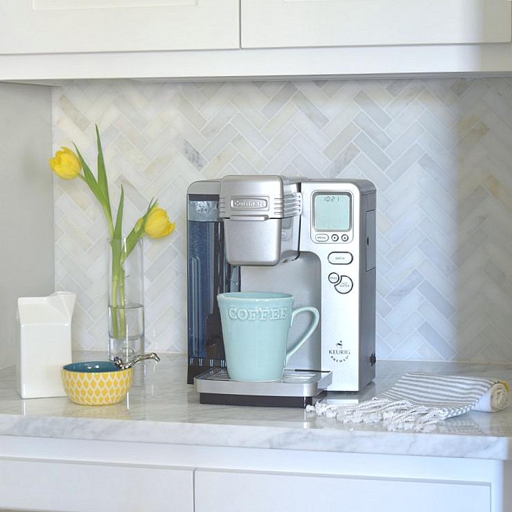 a kitchen backsplash transformation a design decision carrara marble subway tile kitchen backsplash home
