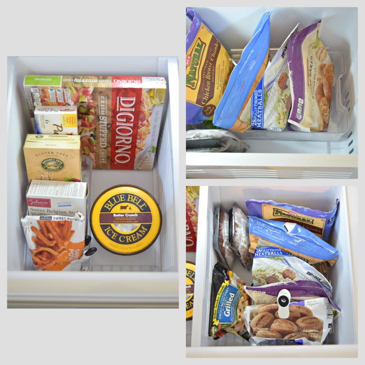 Organized Refrigerator After Collage1