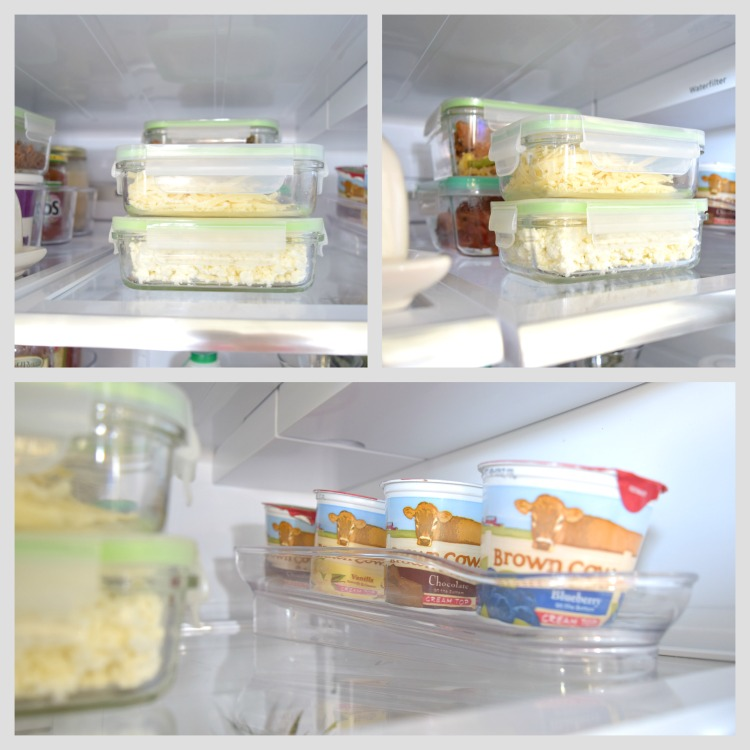 Organized Refrigerator Glasslock InterDesign Binz containers