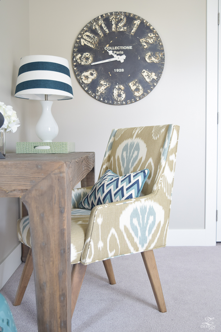 navy and aqua guest room work space-20