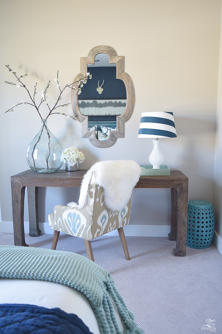 navy and aqua guest room work space2-20