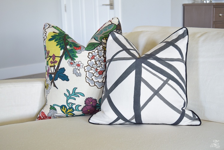 kelly copycatchic fabric wearstler trellis pillow imperial navy pillows