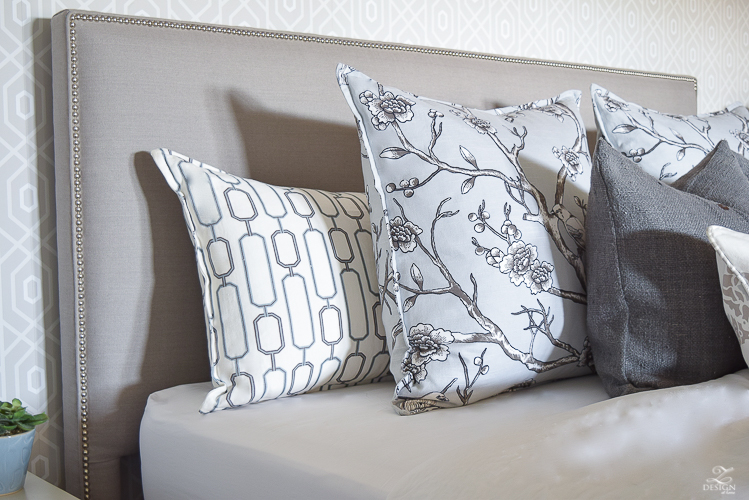 Dwell Studio Blossoms Fabric Kravet Continuum how to make a great pillow_