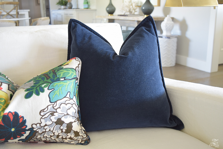 Schumacher Chiang Mai Dragon Fabric for Perfect Pillows-2