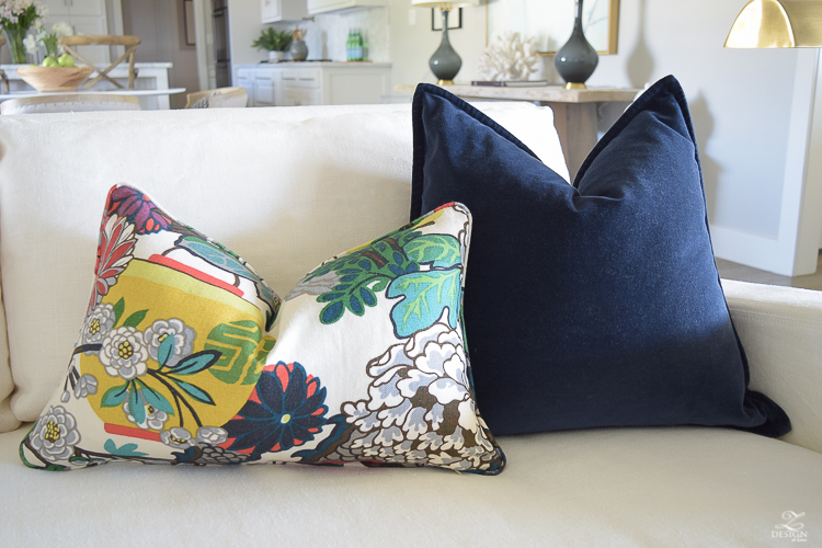 Schumacher Chiang Mai Dragon Fabric for Perfect Pillows