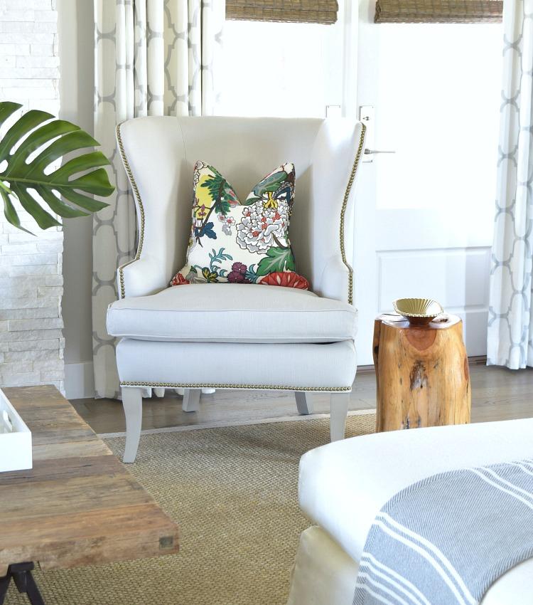 A Summer Living Room Tour