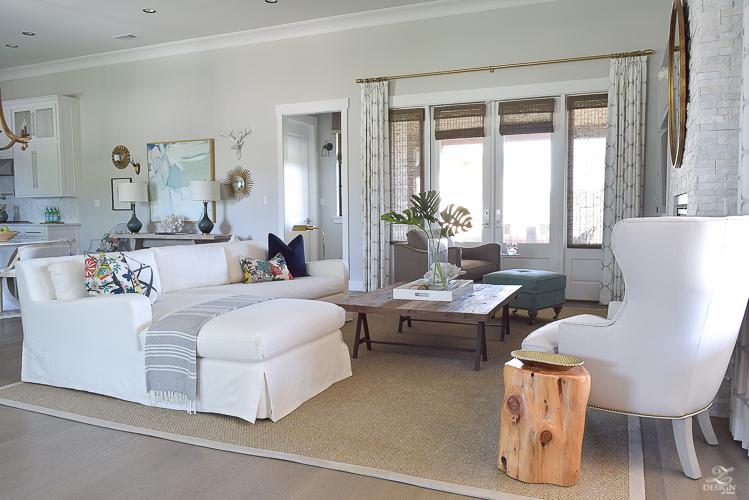 transitional summer living room -2