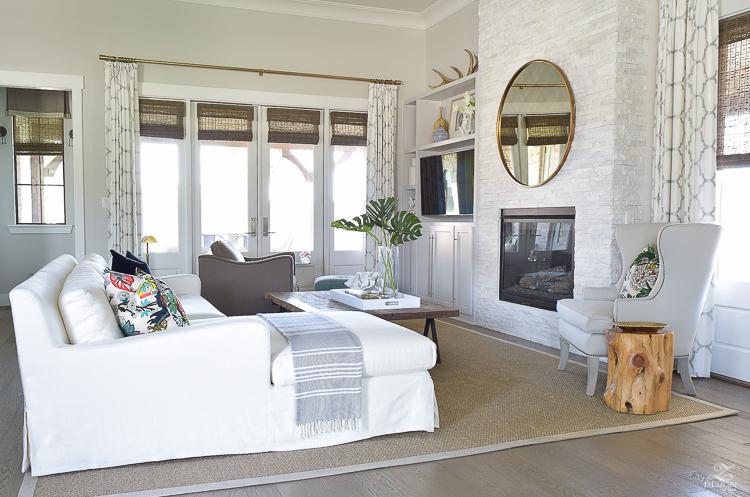 transitional summer living room 3