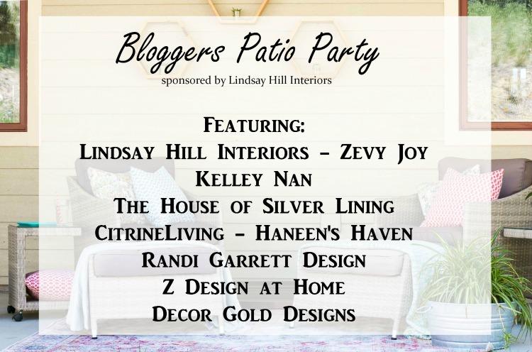 Backyard Patio Party