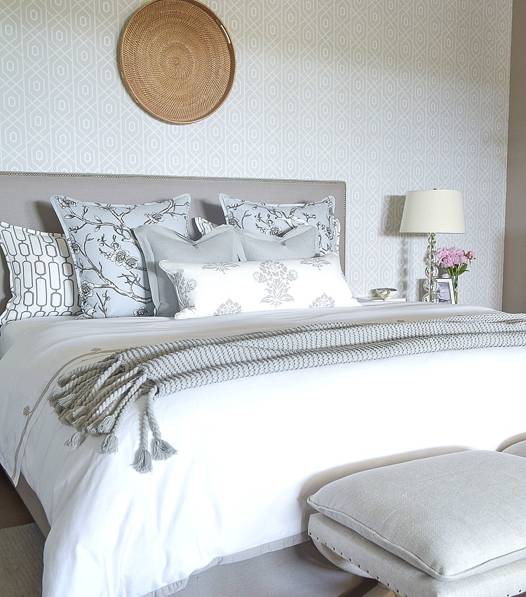Bedrooms Transitional Home: A Transitional Master Bedroom Tour