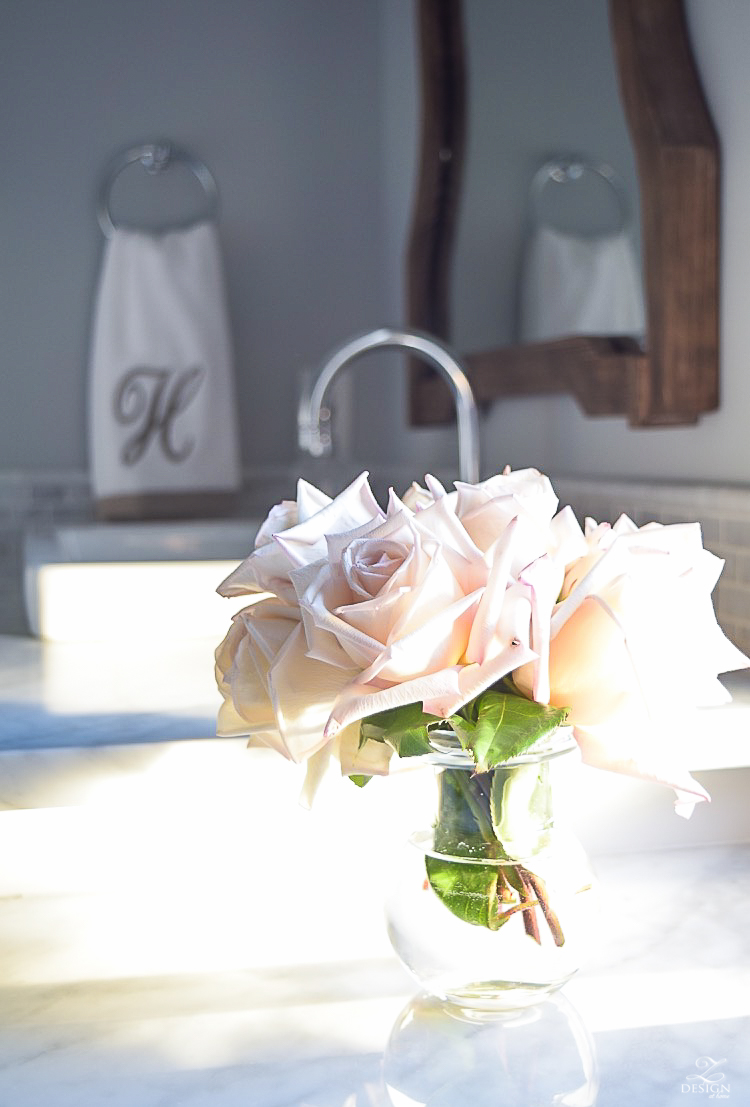 blush roses in neutral transitional bathroom-1