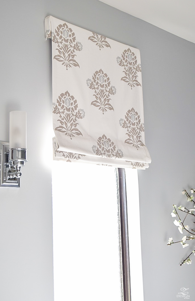 serena and lily jaipur fabric faux roman shade benjamin moore silver lake-1