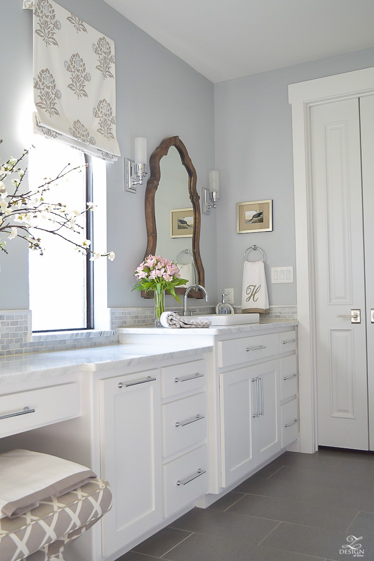 A Transitional Master Bathroom Tour Zdesign At Home