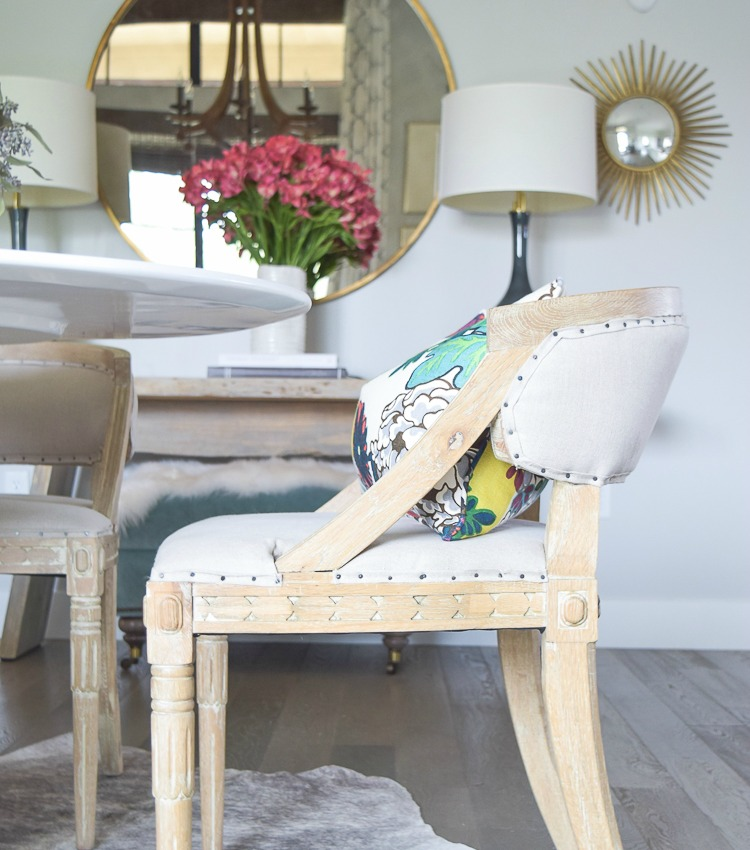 Tips for finding the right dining chairs + my favorite chair