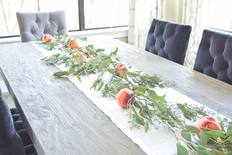 easy-fall-table-centerpiece-with-seeded-eucalyptys-and-peaches-4