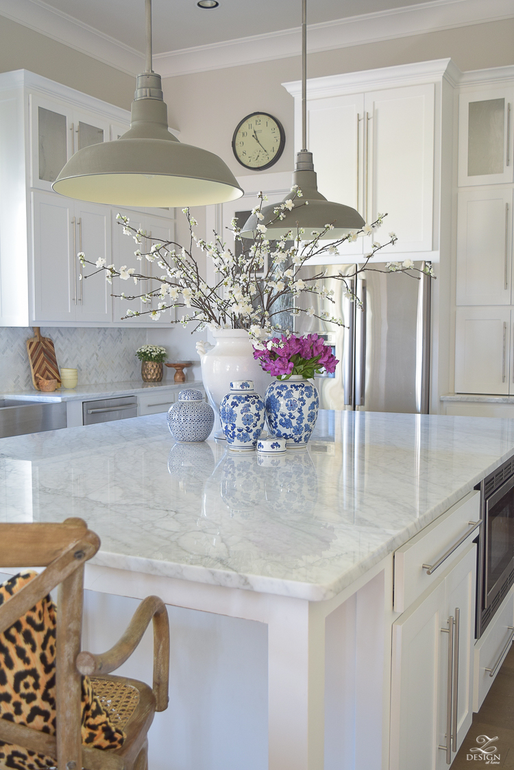 Large Kitchen Island Designs And Plans: 3 Simple Tips For Styling Your Kitchen Island