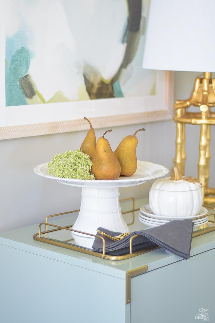 modern-fall-decor-fall-fruit-mirrored-gold-tray-ceramic-white-pumpkin-2