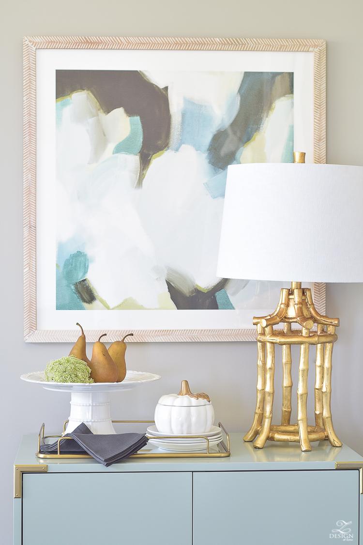 modern-fall-decor-fall-fruit-mirrored-gold-tray-ceramic-white-pumpkin-4