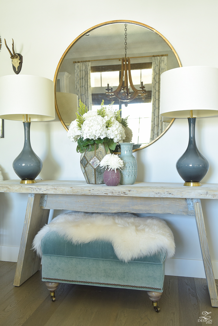 A fresh approach to fall zdesign at home for Home decorating mirrors