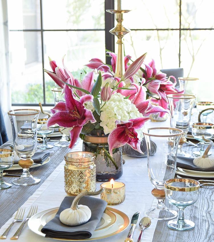 A Rustic, Elegant Thanksgiving