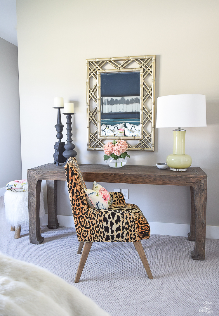 golden-bamboo-lattice-mirror-jamil-leopard-fabric-leaopard-chair-at-desk-in-cozy-chic-bedroom-office-area-in-bedroom-1