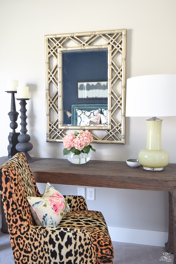 golden-bamboo-lattice-mirror-jamil-leopard-fabric-leaopard-chair-at-desk-in-cozy-chic-bedroom-office-area-in-bedroom-2
