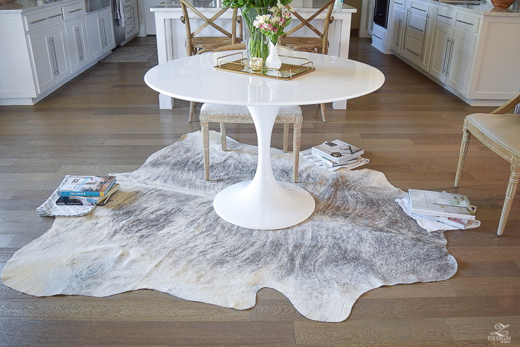 how-to-get-the-curl-out-of-a-cowhide-rug-gray-brindle-cow-hide-rug-3