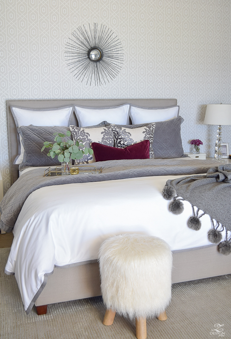 Fall/Winter Master Bedroom Updates | ZDesign At Home
