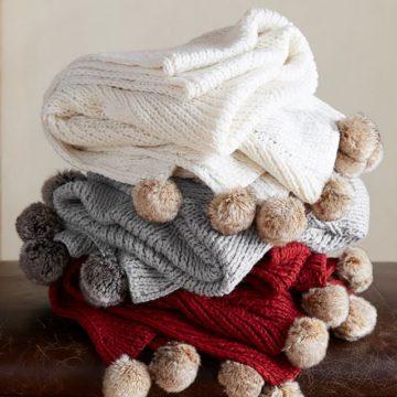 faux-fur-pom-pom-knitted-throw-o-3