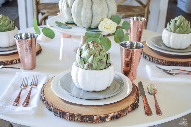 simple-thanksgiving-table-scape-copper-flatware-pumpkin-centerpiece-white-tulip-table-5