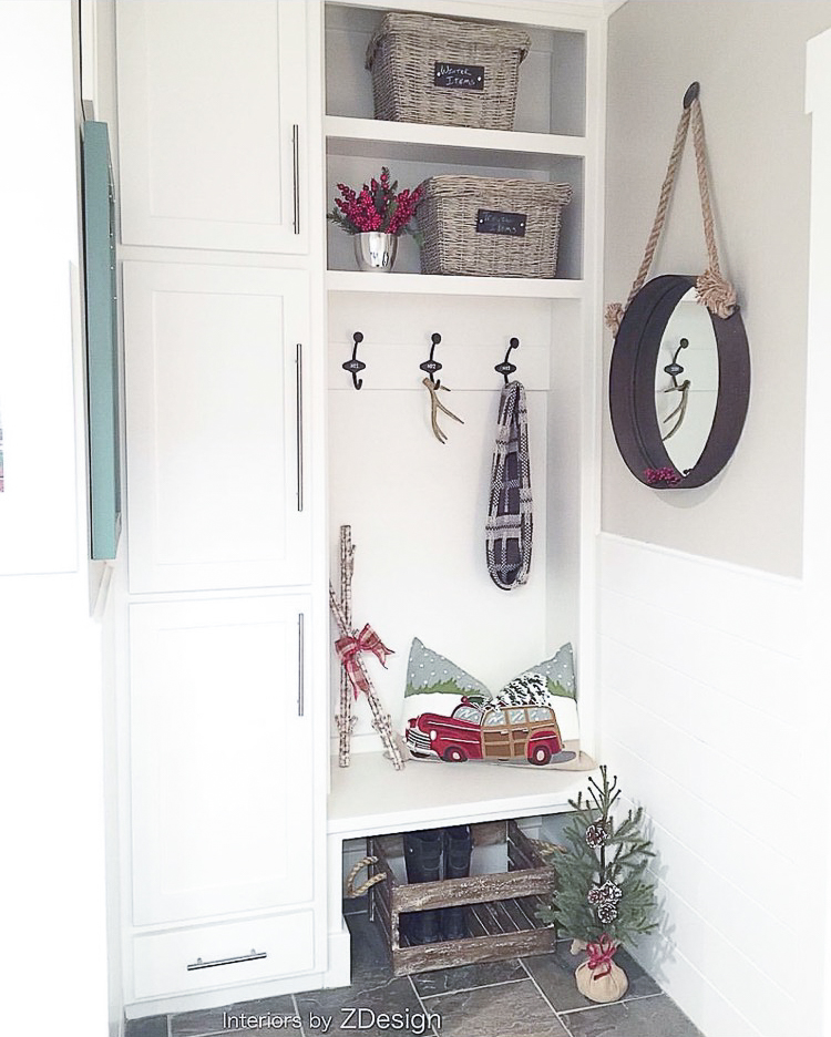 transitional-modern-christmas-decor-flocked-christmas-tree-modern-white-christmas-tree-2015-6