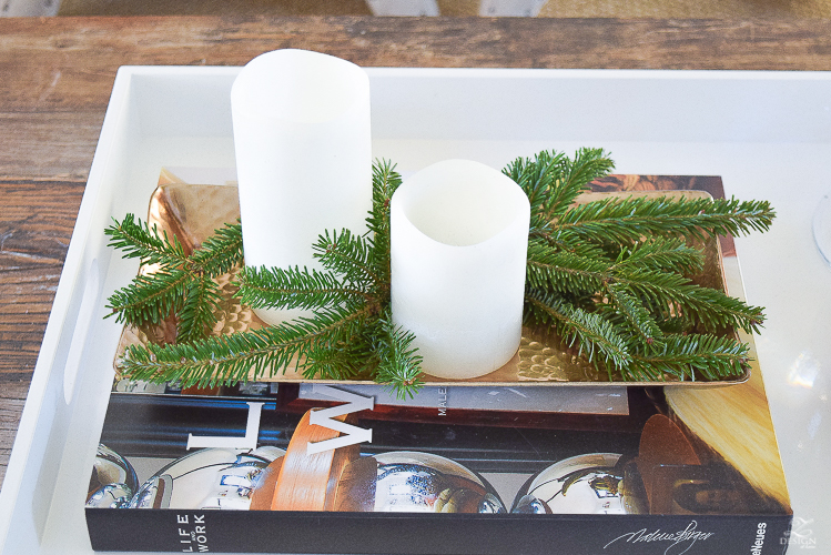 christmas-home-tour-coffee-table-styling-pepperberry-white-stone-on-fireplace-1