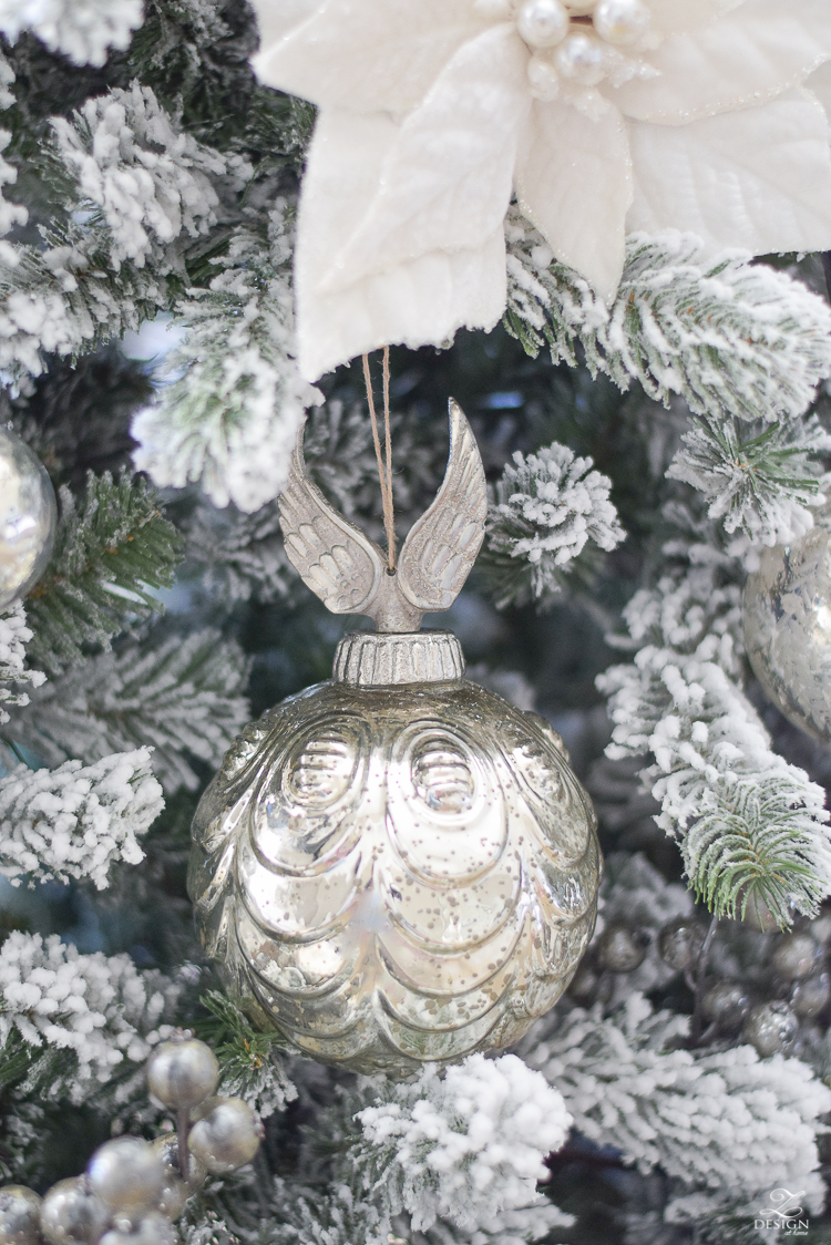christmas-home-tour-mercury-glass-ornaments-king-of-christmas-flocked-tree-2