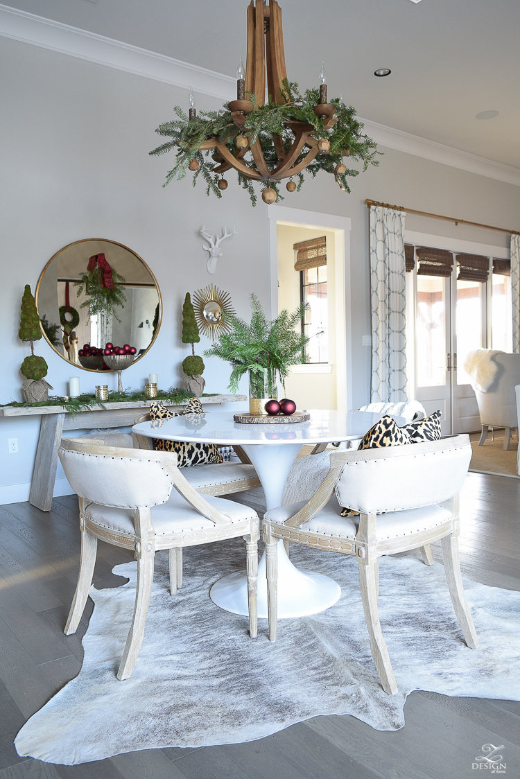 christmas-home-tour-round-gold-mirror-christmas-styling-decor-white-tulip-table-natural-garland-6