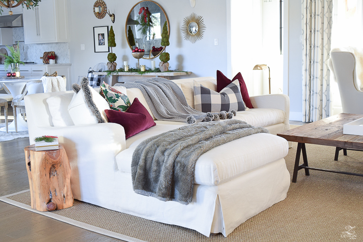 christmas-home-tour-white-slipcovered-couch-christmas-decor-transitoinal-livign-room-1