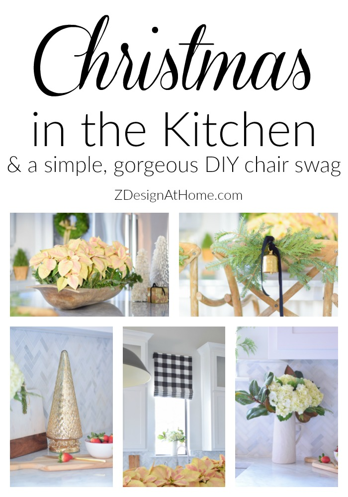 christmas-in-a-white-modern-farmhouse-kitchen-diy-chair-swag