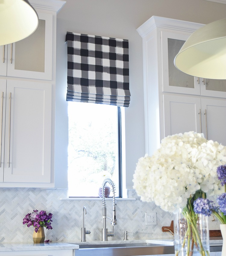 How to Design a Faux Roman Shade