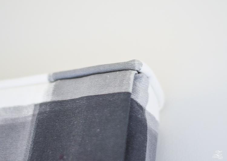How to design a faux roman shade cording on a faux roman shade caitlin wilson buffalo check fabric-1